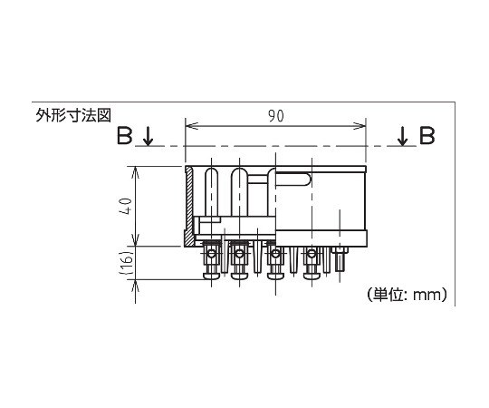フォークリフト用コンセント充電型(コンセント)  RT-316N