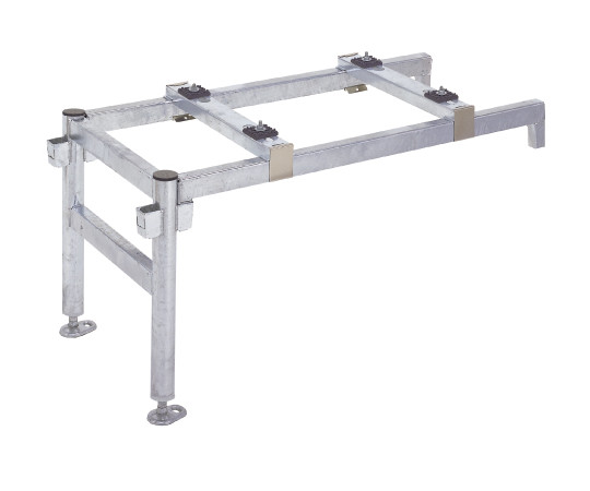 パッケージエアコン据付部材 平地用(高さ500)連結金具  T-NJ65P