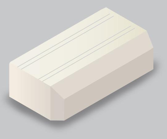 ニュー・エフモール付属品 エンド 3号 ミルキーホワイト  SFME33