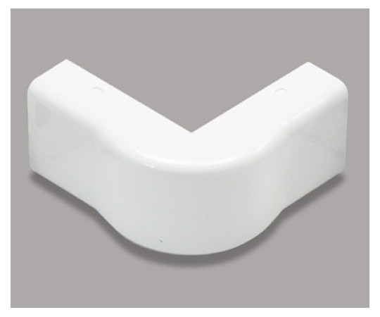 メタルモール付属品 エクスターナルエルボ B型 ホワイト  B2052
