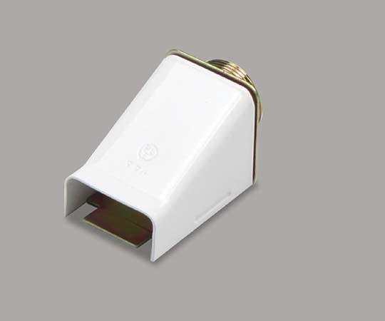 メタルモール付属品 ストレートボックスコネクター B型 ホワイト  B2132