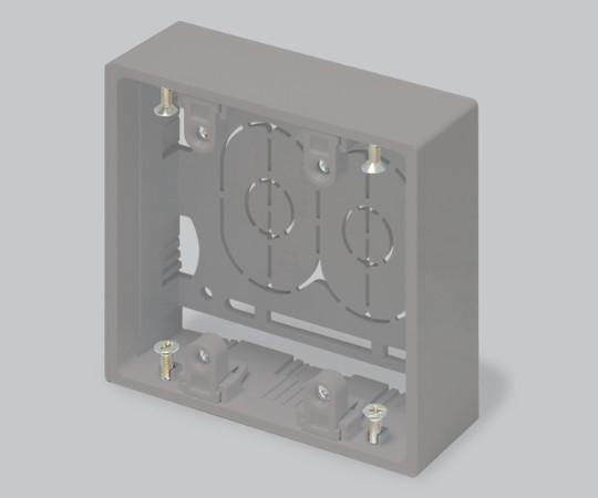 ニュー・エフモール付属品 露出ボックス 2個用 深型 グレー  SFBF21