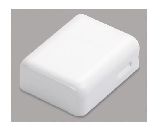 メタルモール付属品 角型エンド A型 ホワイト  A1202