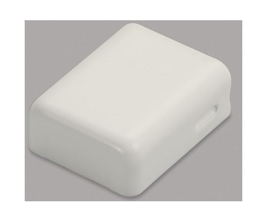 メタルモール付属品 角型エンド A型 ミルキーホワイト  A1203
