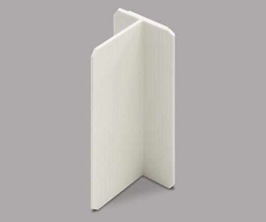 メタルモール付属品 スイッチボックスセパレーター(樹脂製品) 浅型 ミルキーホワイト  ABS33