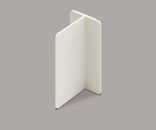 メタルモール付属品 スイッチボックスセパレーター(樹脂製品) 深型 ミルキーホワイト  ABS43