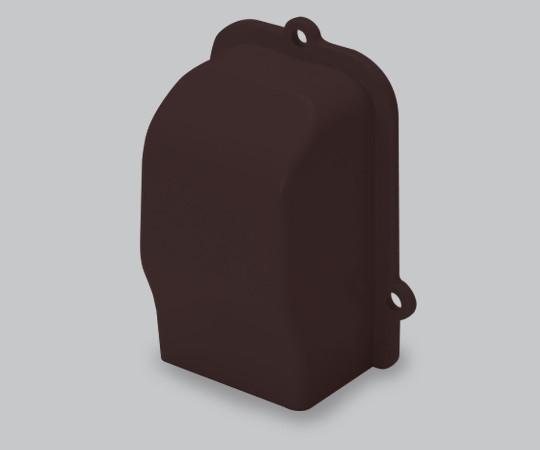 屋外用エムケーダクト付属品 引込カバー 2号 チョコ  MDHC29