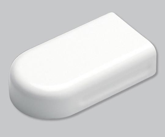 メタルエフモール付属品 エンド S型 ホワイト  MFME02