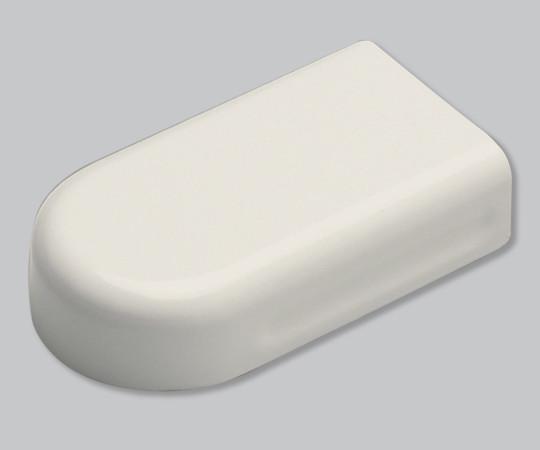 メタルエフモール付属品 エンド S型 ミルキーホワイト  MFME03