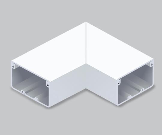 エムケーダクト付属品 平面マガリ 8号200型 ホワイト  MDM8202