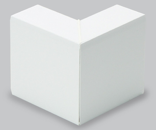 エムケーダクト付属品 外マガリ 8号150型 ホワイト  MDS8152