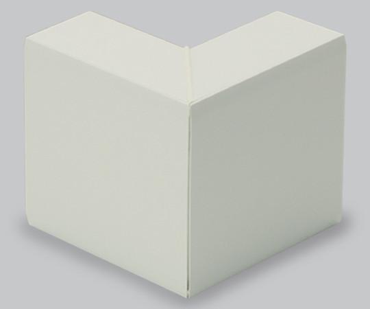 エムケーダクト付属品 外マガリ 8号200型 ミルキーホワイト  MDS8203