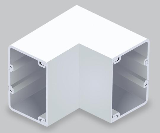 エムケーダクト付属品 内マガリ 6号150型 ホワイト  MDU6152