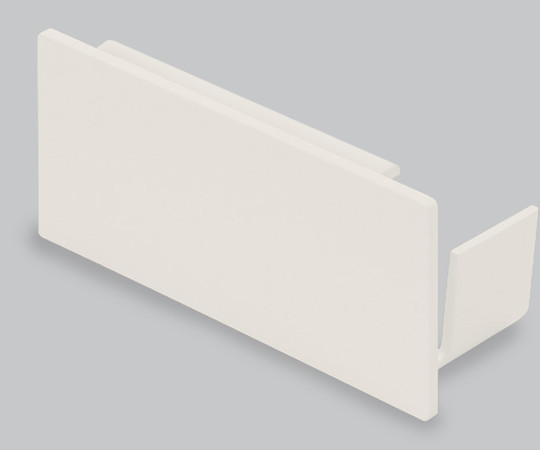 エムケーダクト付属品 エンド差込型 8号 クリーム  KMDE85