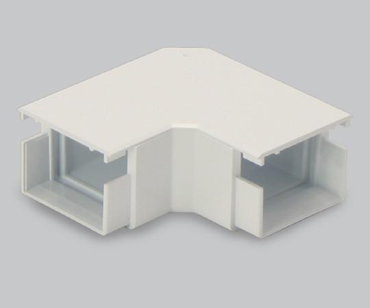 エムケーダクト付属品 平面マガリ 4号 クリーム  MDM145