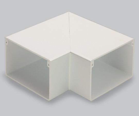 エムケーダクト付属品 平面マガリ 5号70型 クリーム  MDM5705