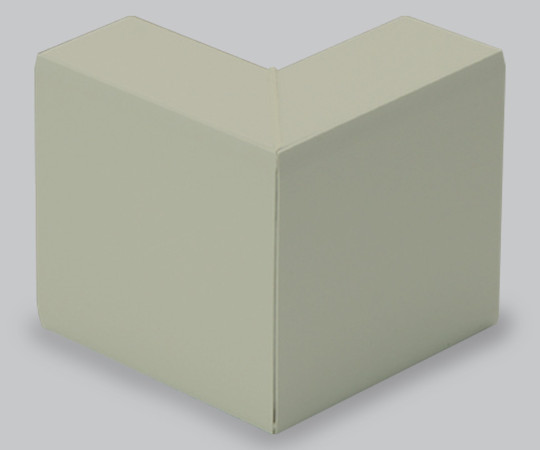 エムケーダクト付属品 外マガリ 130×60型 ライトベージュ  MDS1367