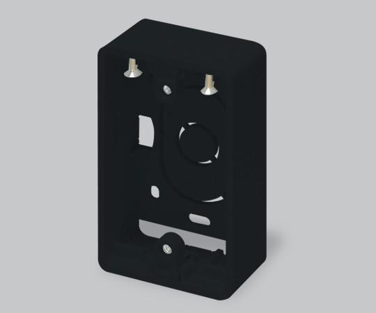 ニュー・エフモール付属品 露出ボックス 1個用 超浅型 ブラック  SFBTA1W