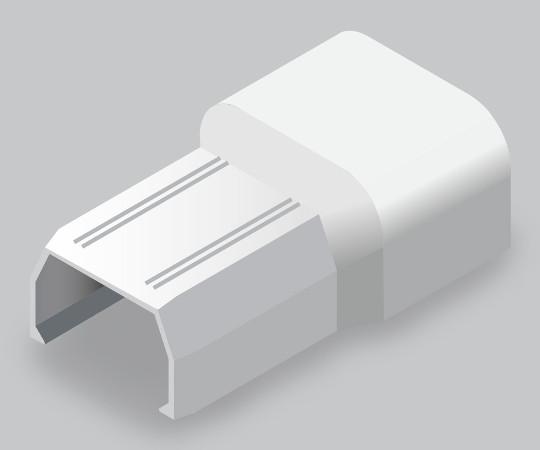 ニュー・エフモール付属品 フレキコネクター 4号 ホワイト  SFMFC42
