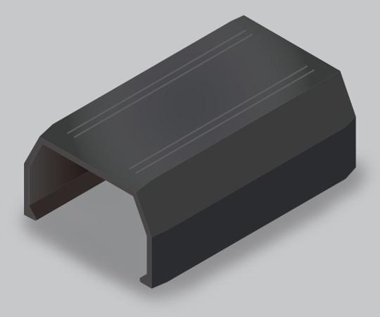 ニュー・エフモール付属品 ジョイントカバー 2号 ブラック  SFMJC2W
