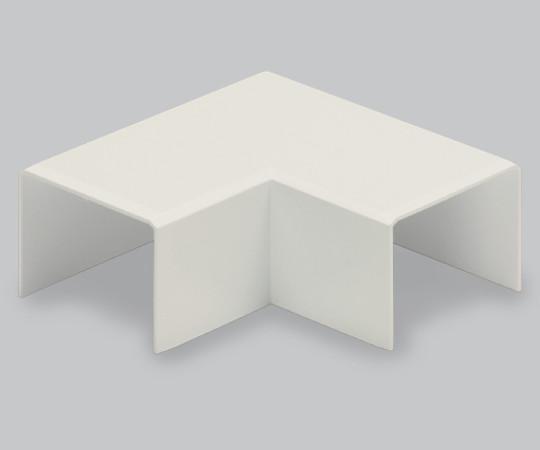 エムケーダクト付属品 平面マガリ 後付け型 1号 クリーム  MDMC115