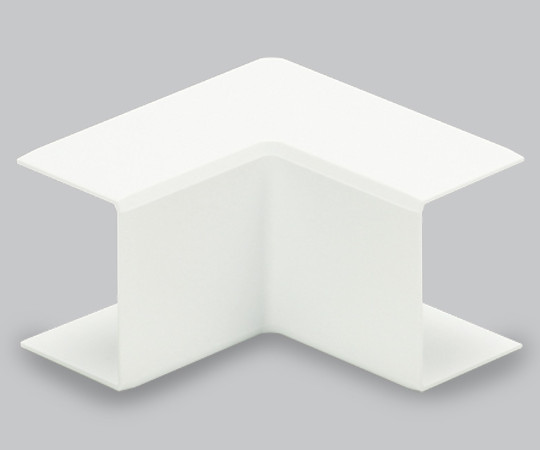 エムケーダクト付属品 内マガリ 後付け型 1号 ホワイト  MDUC112