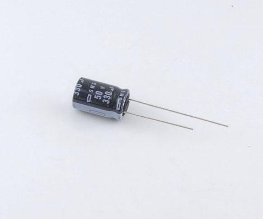 アルミ電解コンデンサー 50V 330μF 85℃ 耐洗浄  ESMG500ELL331MJ16S