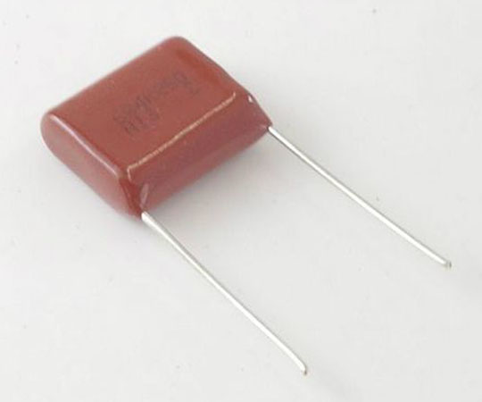 [取扱停止]メタライズドポリエステルフィルムコンデンサー 250V 0.68μF  MMH250K684