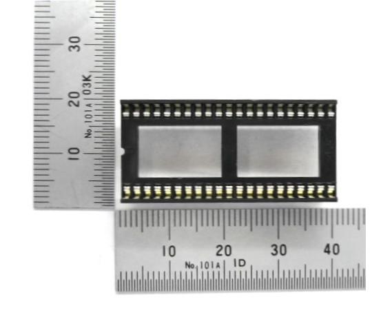 ICソケット シュリンクDIP用 42ピン 1.778mmピッチ  GB-ICS-SDIP42