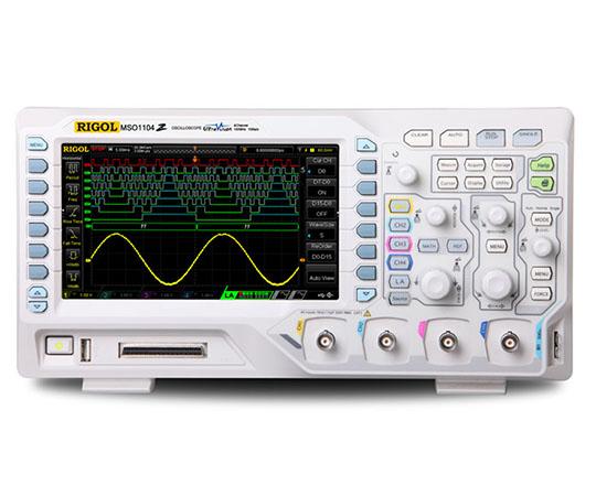 ミクスド シグナル オシロスコープ(100MHz・4ch・1GS/s・16chデジタル)  MSO1104Z
