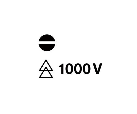 スイスGrip マイナスドライバー絶縁  58100-0-80/2.5