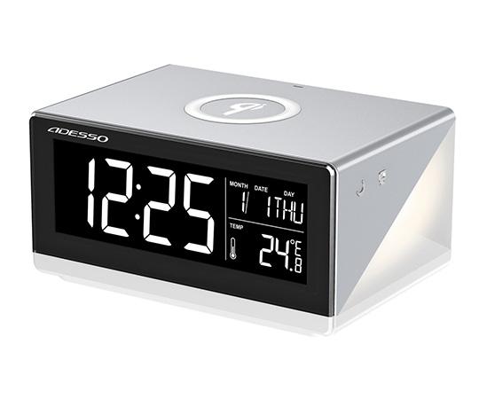 ワイヤレススマホ充電時計 QA-02シリーズ