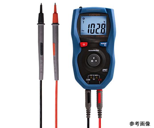 防塵防水デジタルマルチメータ CDM-WPシリーズ