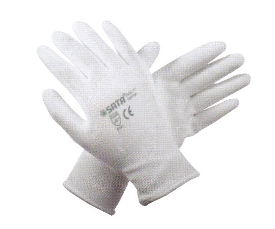 PUグローブ ホワイト FSシリーズ