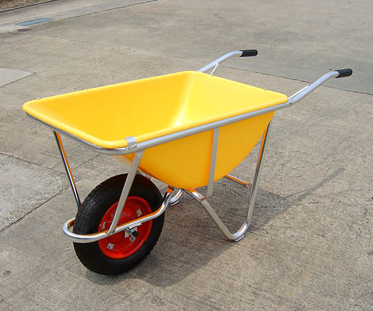 アルミ一輪車