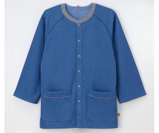 患者用上衣 ブルー GJ-1581シリーズ