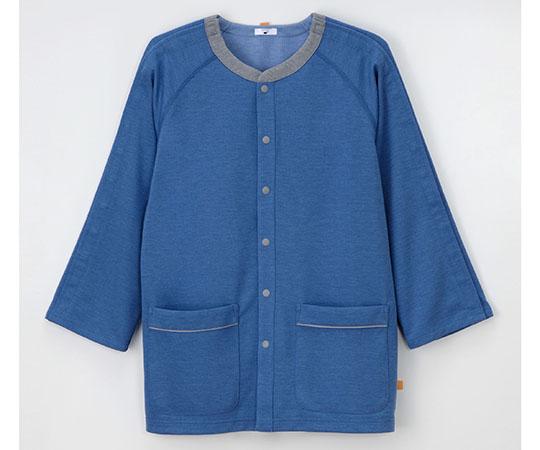 患者用上衣 ブルー GJ-1586シリーズ