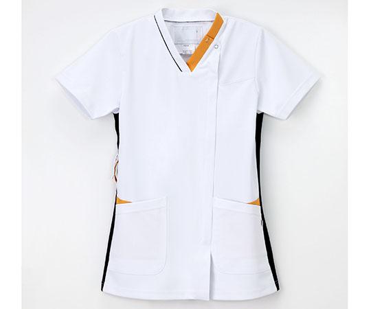 男女兼用スクラブ Tネイビー+オレンジ LX-4092シリーズ
