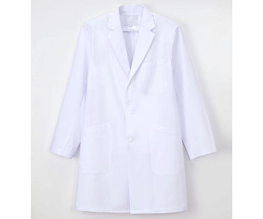 男子シングル診察衣 ホワイト KEX-5180シリーズ