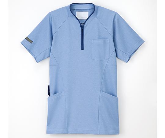 ニットシャツ ブルー JM-3177シリーズ