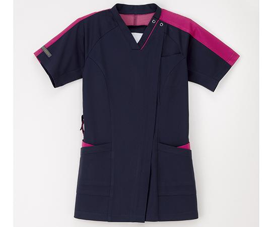 女子スクラブ ネイビー+ピンク RF-5192シリーズ