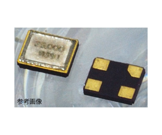 水晶振動子 25MHz 表面実装 4-pin SMD 基本波  FCX-05 25.000MHZ