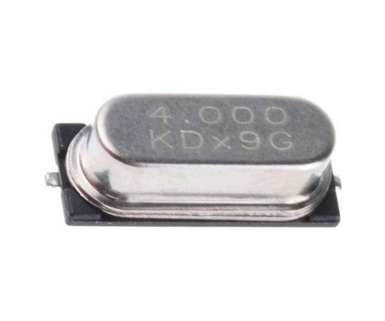 水晶振動子 4MHz 表面実装 2-pin HC-49-4H-SMX 基本波  LFXTAL003071