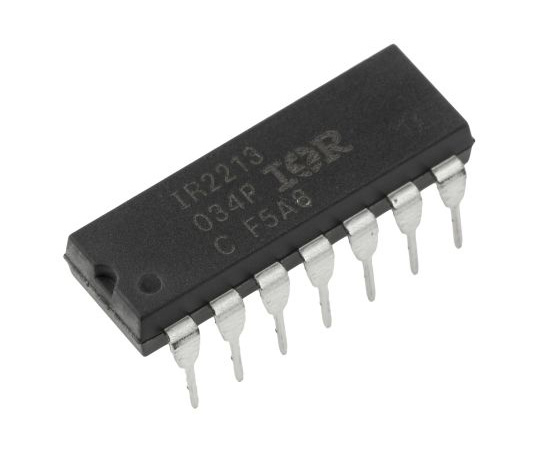 [Discontinued]Infineon IR2213PBF Dual High and Low Side MOSFET Power Driver, 2.5A 14-Pin, PDIP IR2213PBF