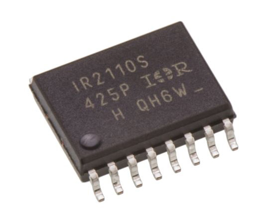[Discontinued]Infineon IR2110SPBF Dual High and Low Side MOSFET Power Driver, 2.5A 16-Pin, SOIC W IR2110SPBF