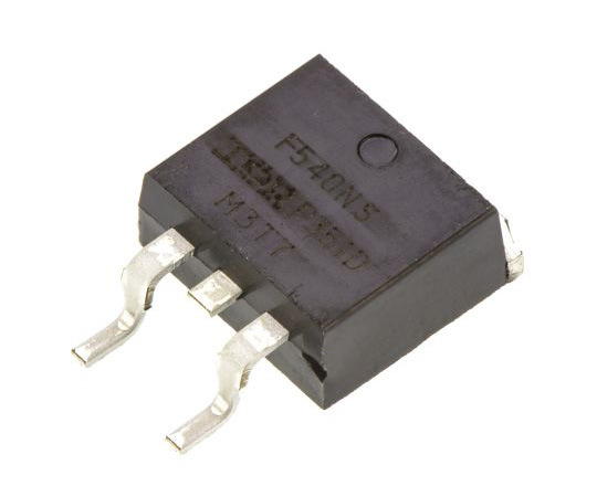 [Discontinued]IRF540NSPBF N-Channel MOSFET, 33 A, 100 V HEXFET, 3-Pin D2PAK Infineon IRF540NSPBF