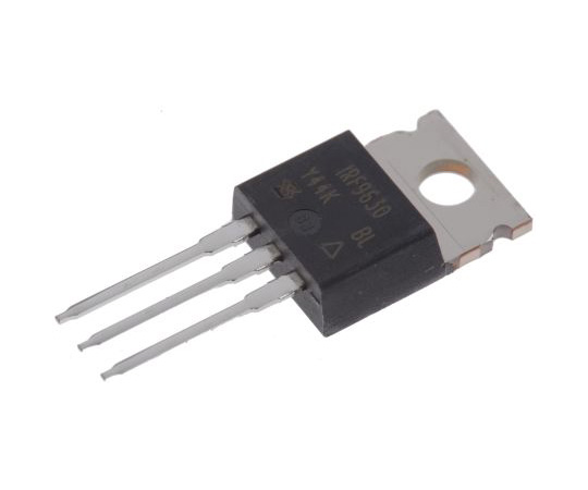 IRF9630PBF P-Channel MOSFET, 6.5 A, 200 V, 3-Pin TO-220AB Vishay IRF9630PBF