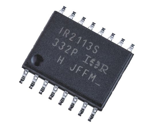 Infineon IR2113SPBF Dual High and Low Side MOSFET Power Driver, 2.5A 16-Pin, SOIC W IR2113SPBF