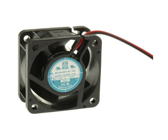 RS PRO Axial Fan, 40 x 40 x 20mm, 7cfm, 800mW, 12 V dc 541-4892