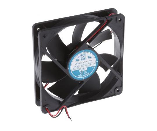 RS PRO Axial Fan, 120 x 120 x 25mm, 83cfm, 4W, 12 V dc 541-5104